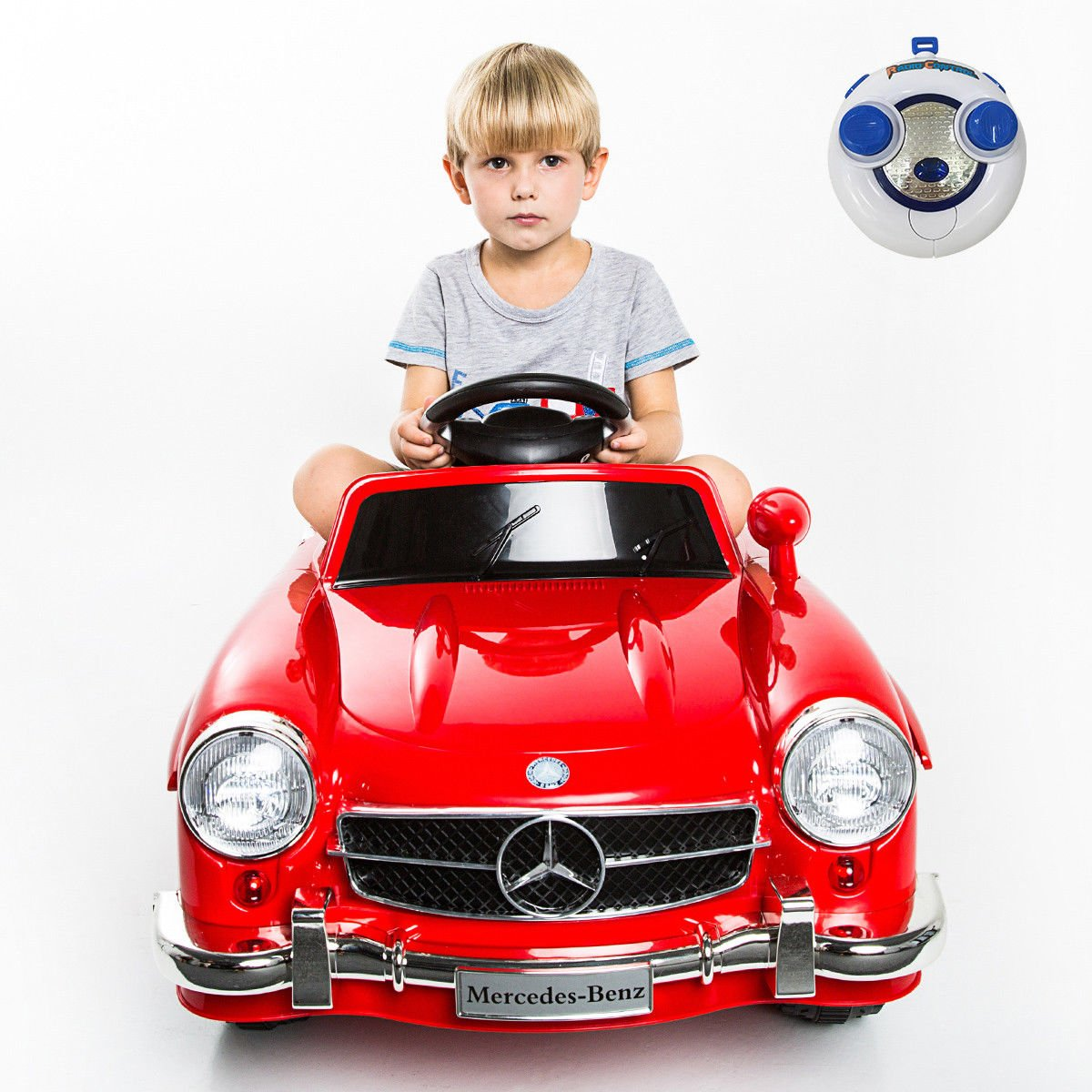 Costzon Mercedes Benz 300SL AMG RC Kids Ride On Car Electric Toy Vehicle