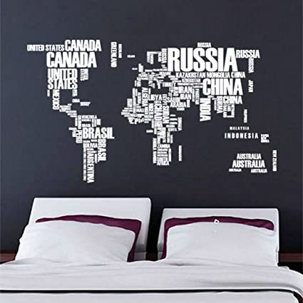 World map english alphabet wall stickers living room background world map english alphabet wall stickers living room background decorative painting gumiabroncs Image collections