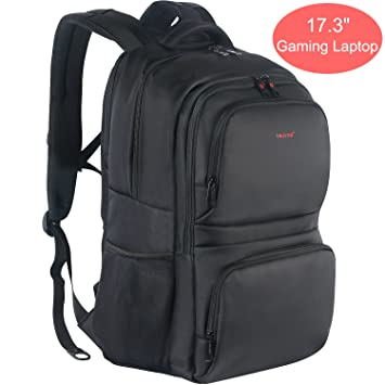 Amazon.com: Kuprine 17 Inch Large Business Laptop Backpack for Men ...