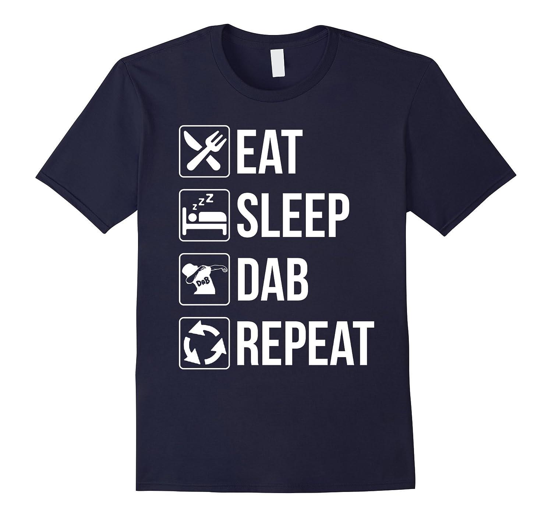 Funny Eat Sleep Dab Repeat Shirt-FL