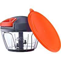 Artikel Manual Chopper with Storage Lid | Chops Vegetables, Nuts & Fruits | Meat Mincer | Small - 400 ml