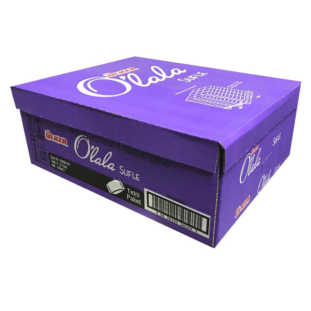 Ulker Olala Souffle Cake Snacks 70 GR ( Pack of 12 )