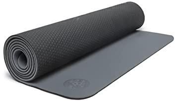 Manduka - LiveOn 5 mm yoga mat, gris: Amazon.es: Deportes ...