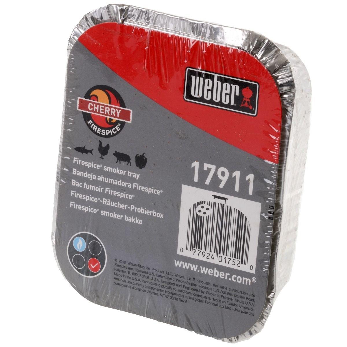 Weber Cubic 17911 Smoke in A Box Cherry