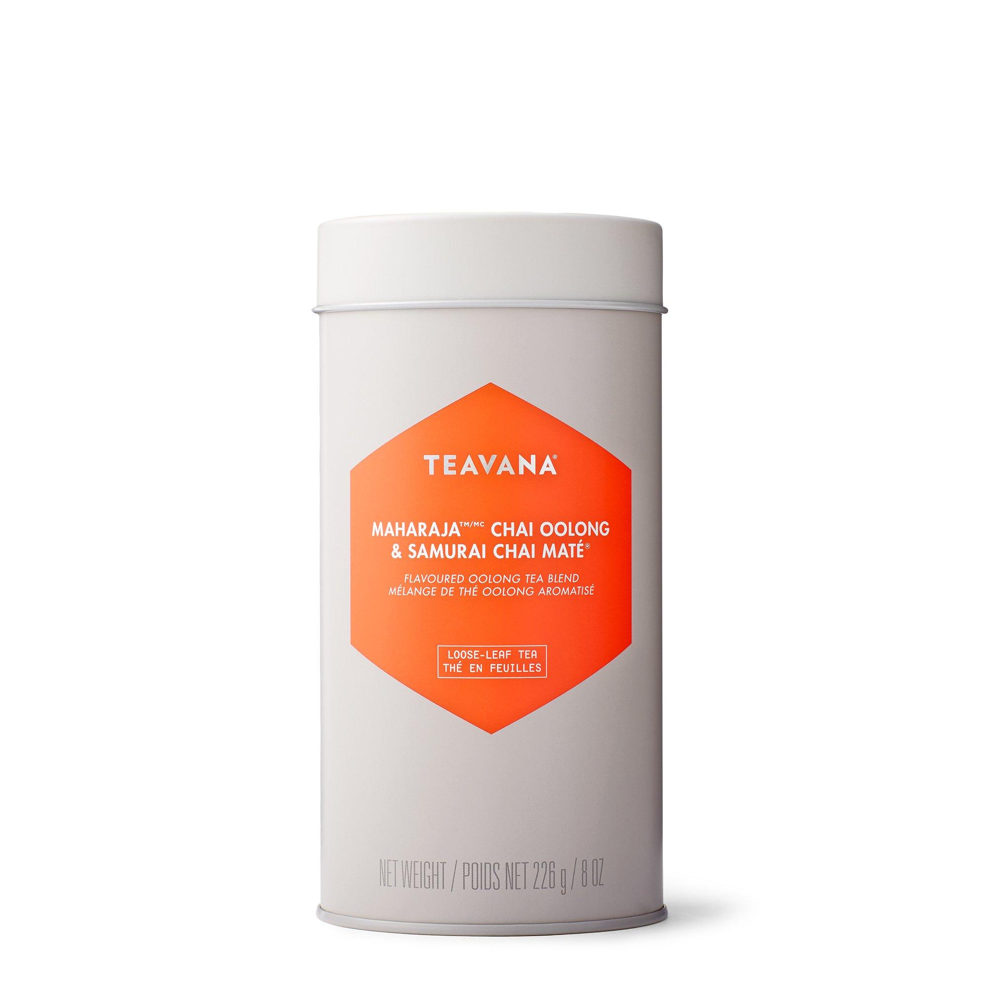 Maharaja & Samurai Chai Mate Tea-Filled Tin by Teavana