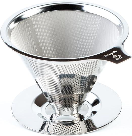 Amazon.com: Maranello Caffé - Cafetera de café con soporte ...
