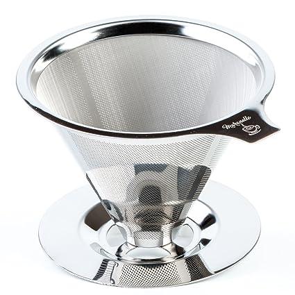 60a8043e69b Amazon.com  Maranello Caffé Pour Over Coffee Dripper with Cup Stand ...