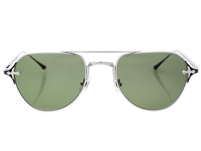 Amazon.com: Matsuda M3072 PW.SG.56 Palladium White - Gafas ...