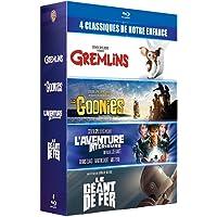 """Coffret 4 films cultes - Gremlins + Les Goonies + L'Aventure intérieure + Le Géant de fer - """"Les références du film READY PLAYER ONE"""" - 4"""
