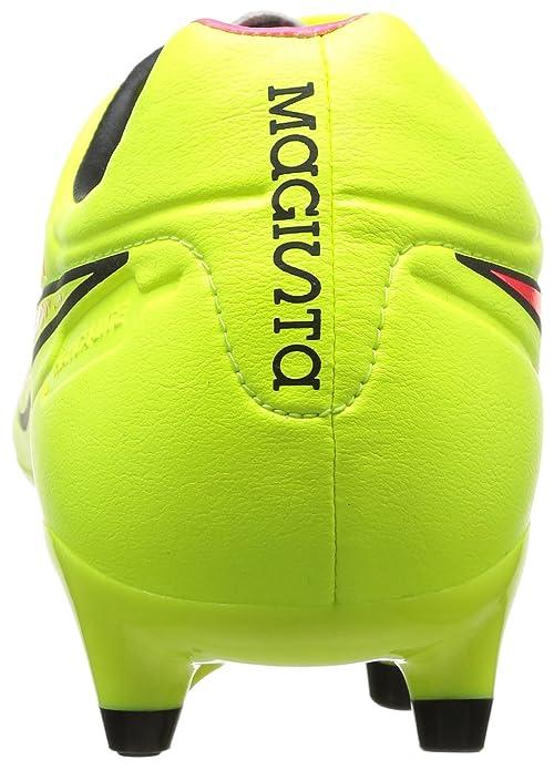 Nike Magista Orden Fg, Chaussures de football homme - Multicolore (Vlt/Mtlc Gld Cn-Blck-Hypr Pnch), 40 EU