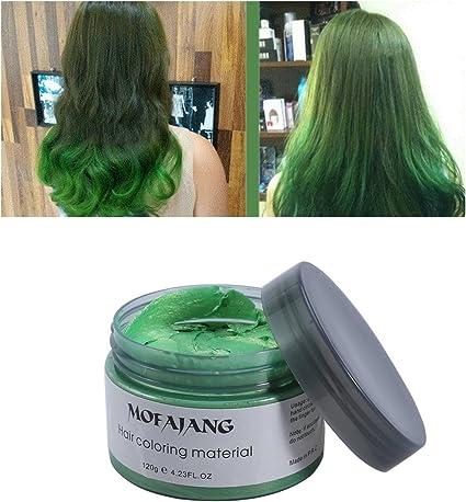 Lurrose Pomadas de cera para el cabello 4.23 oz Desechables ...