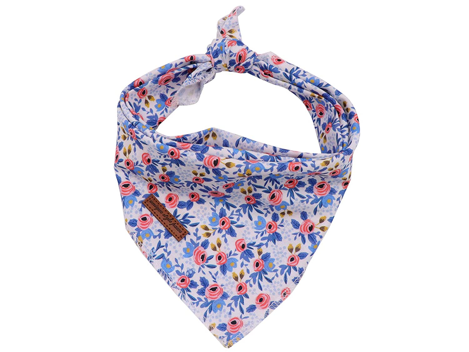 Unique style paws Dog Bandanas 1PC Washable Cotton Triangle Dog Scarfs for Small Medium Large Dogs and Cats