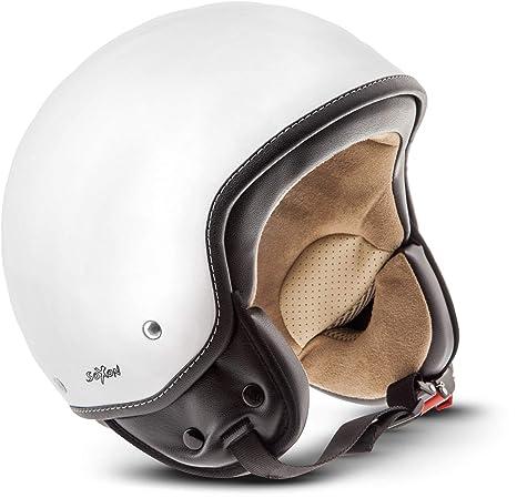 0e7db703edd95 SOXON SP-301 Snow Casco Demi-Jet Mofa Bobber Vespa Helmet Retro Scooter  Piloto