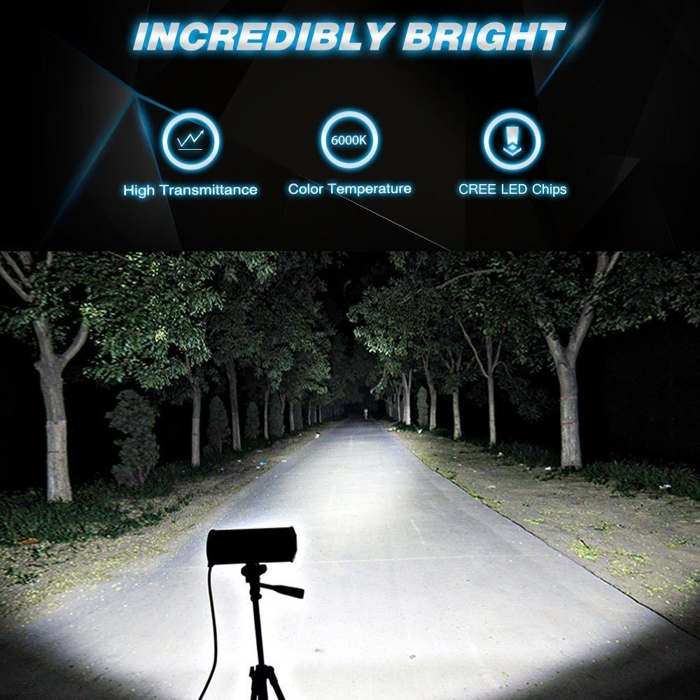 Tractor 5  72W Super Bright y Potentes Focos Led Coches 6000K IP67 Impermeable de Faros Adicionales Blanco Fr/ío Para off-road 2PCS Sungentle Faro Trabajo Led Cami/ón