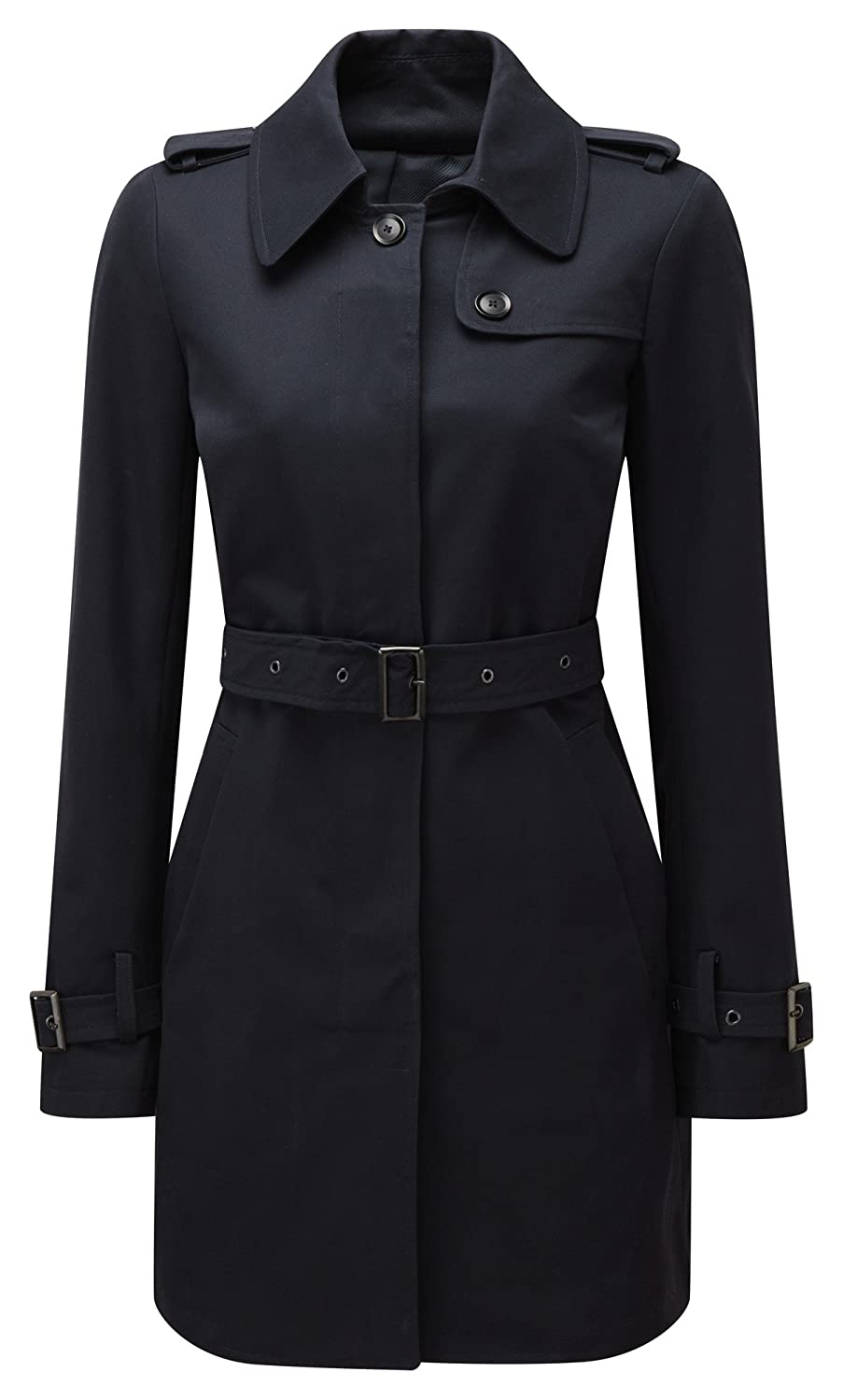Original Montgomery Womens Windsor Trench Coat Navy