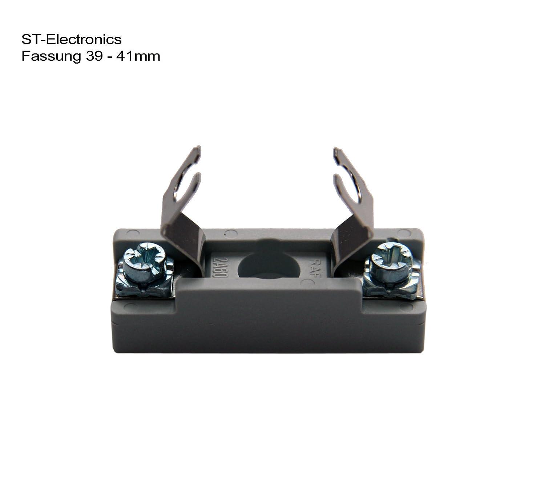 Lampenfassung für LED und Glühfaden Soffitten 39 - 42 mm ...