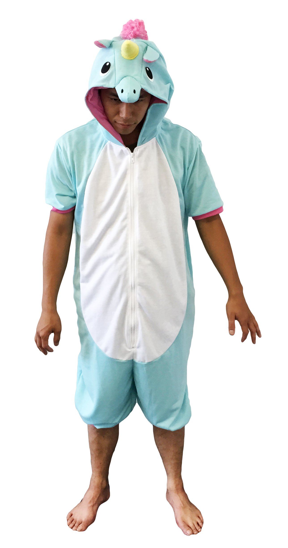 Blue Unicorn Kigurumi (Adults, Summer)