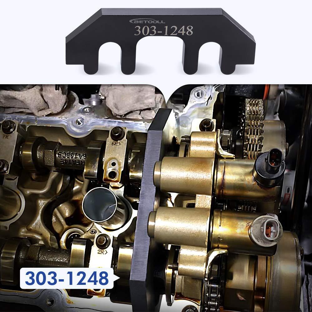 BETOOLL HW9204 303-1248 303-1530 Ford 3.5L & 3.7L 4V Cam Tool Holding Set by BETOOLL (Image #5)