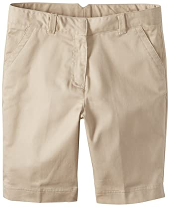 Amazon.com: Dockers Girls' Uniform Twill Bermuda Short: School ...