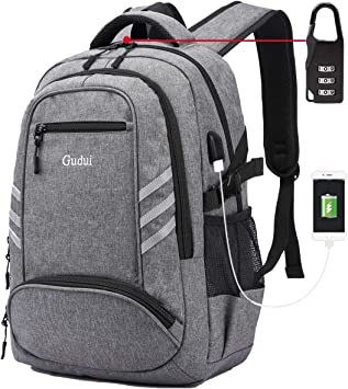 Laptop Backpack with USB Port Waterproof College Backpack