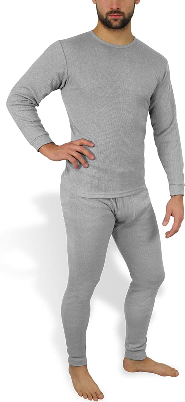 Unterhose und Hemd normani Kuschelig warme Winterunterw/äsche//Thermounterw/äsche