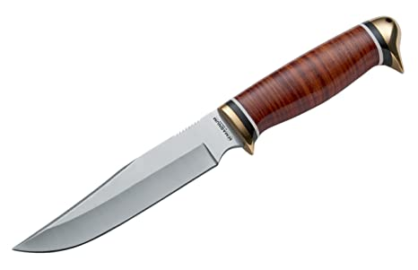 Böker 02MB598 - Cuchillo (235 g, 27,9 cm, Acero, Cuero ...