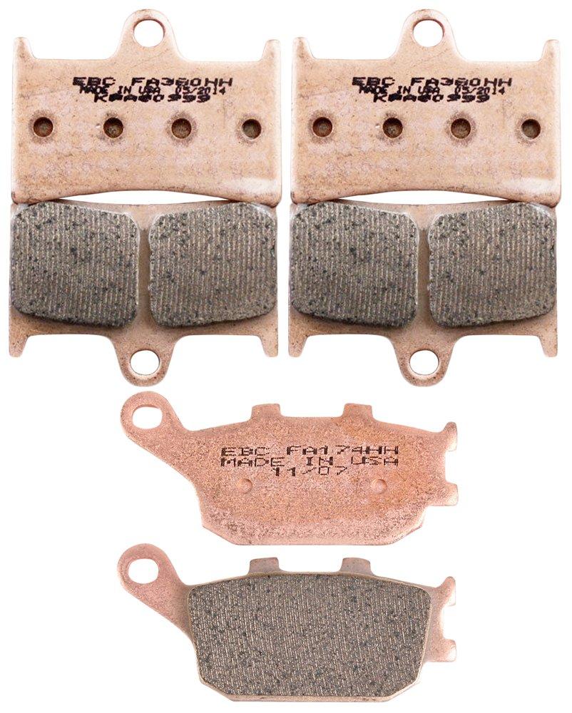 EBCブレーキebpck1008 Complete double-h焼結ブレーキパッド変更キット   B011A2NIPA