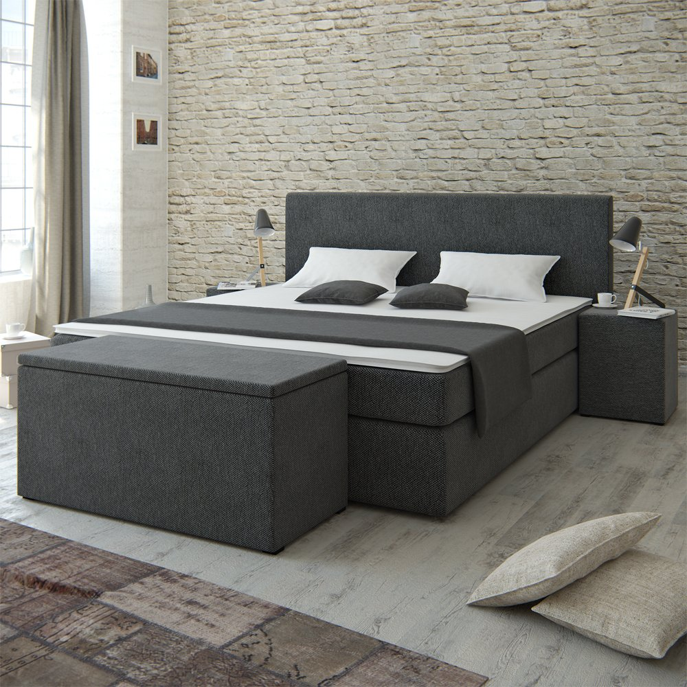 bank vorm bett excellent bett mit licht indirekte. Black Bedroom Furniture Sets. Home Design Ideas