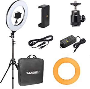 Amazon Giveaway ZOMEI 14 inch Dimmable LED Ring Light...