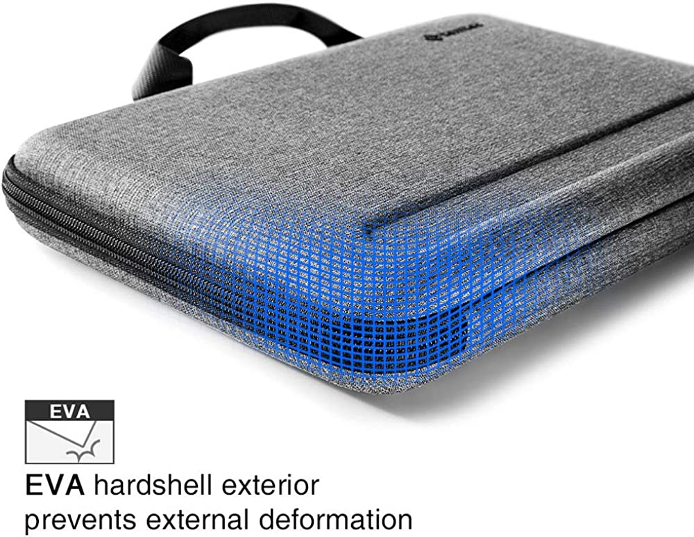 MacBook Pro A2159 A1989 A1706 A1708 Organized Shoulder Bag with Tablet Pocket for Up to 11 iPad Pro with Smart Case Keyboard tomtoc 12-13 inch Ultra-Slim Case for 13-inch New MacBook Air A2179 A1932