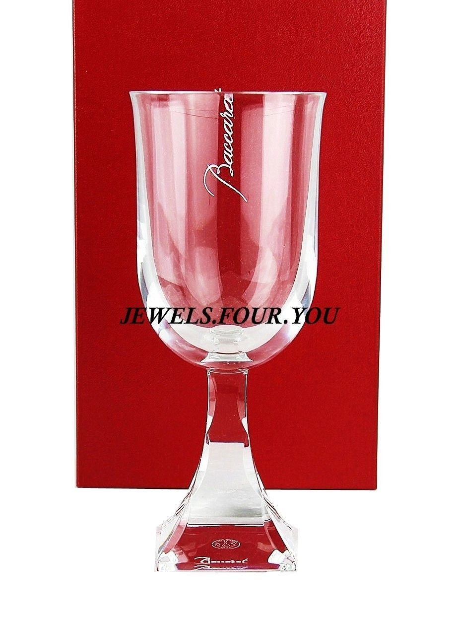 BACCARAT MALADETTA AMERICAN RED WINE CLEAR CRYSTAL GLASS