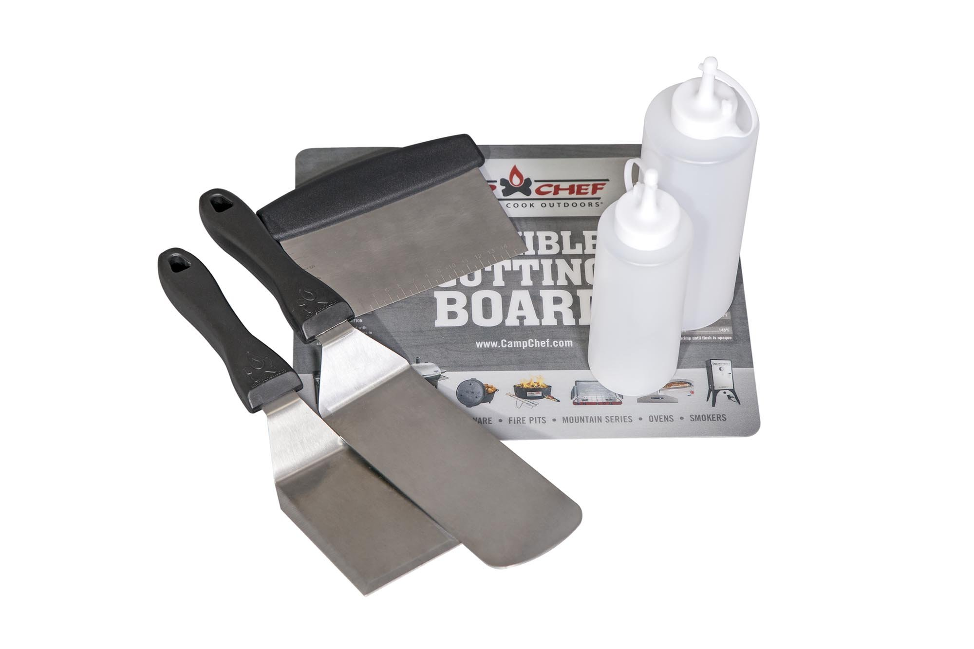 Camp Chef Flat Top Tool Kit for Flat Top Grills (FTG475, FTG600, FTG900) by Camp Chef