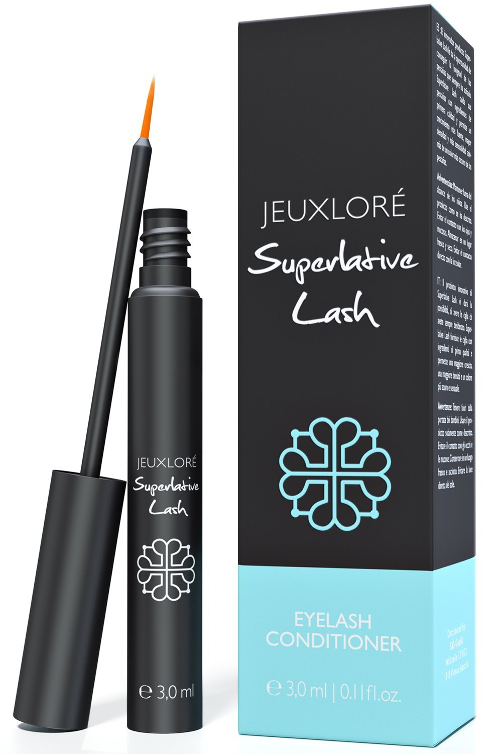 LORE® - Eyelash Growth Serum 3 ml - Thicker, Longer Eyelashes & Eyebrows - No Irritation, Dermatologist Tested! SnS Corp. G1