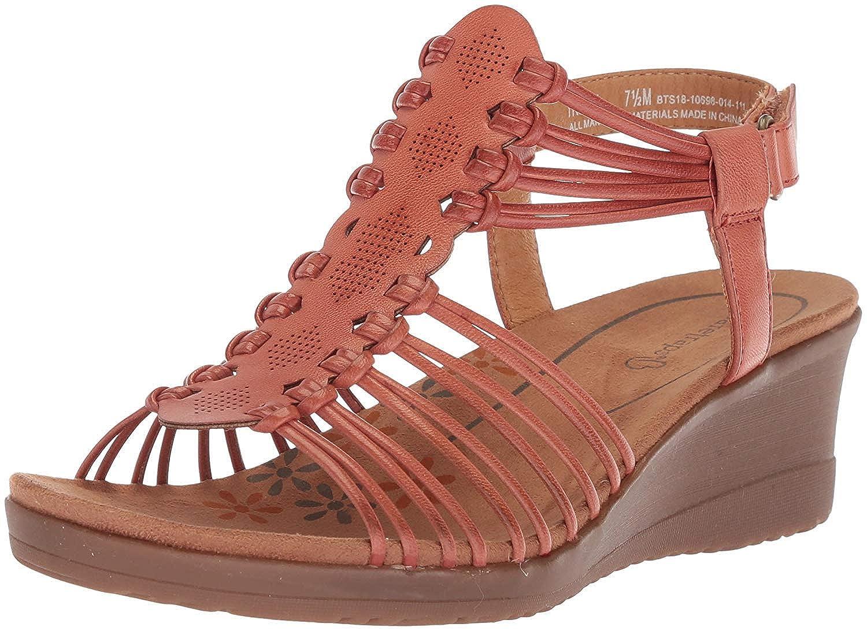 d6e79d50eb8 Bare Traps Womens Haydin Open Toe Casual Platform Sandals