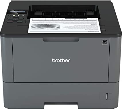 Brother HL-L5100DN Monochrome Laser Printer w// Duplex Two-Sided Printing and Mob