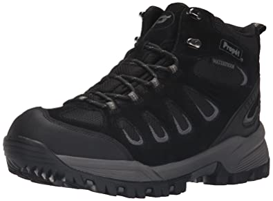 Propet Men's Ridge Walker Hiking Boot, Black, ...