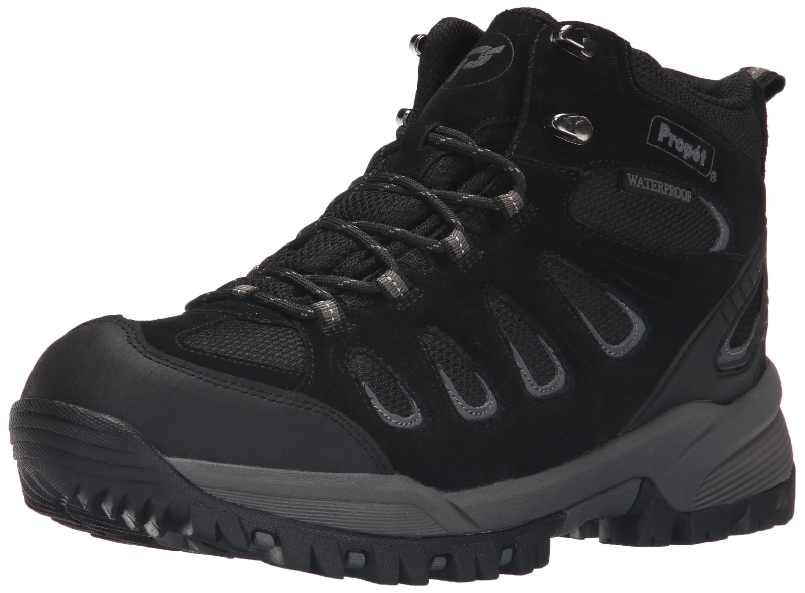 Propet Men's Ridge Walker Winter Boot, Black, 9.5 3E US