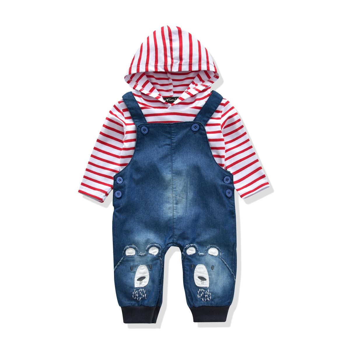 14894a4b9ab0 Amazon.com  LvYinLi Cute Baby Boys Clothes Toddler Boys  Romper ...