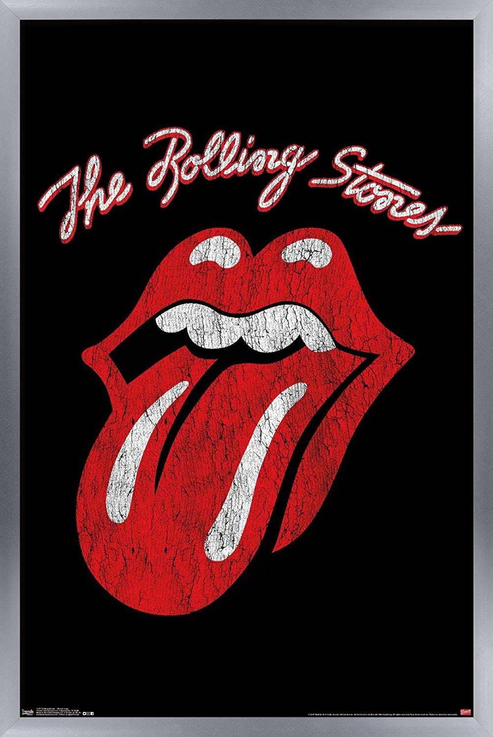 THE ROLLING STONES CANVAS PICTURE PRINT WALL ART HOME DECOR FREE FAST DELIVERY