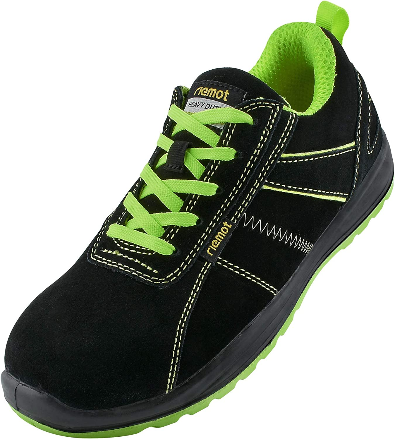 Mens Lightweight Non Metal Plastic Composite Toe Cap Safety Work Shoes Trainers