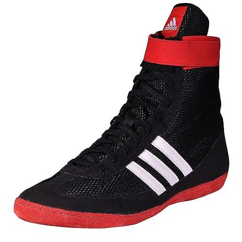 separation shoes 0e2a8 4f60e Adidas Combattimento velocità 4 IV Wrestling Scarpe Ringerschuhe Anelli -  Nero, Uomo, 47 1