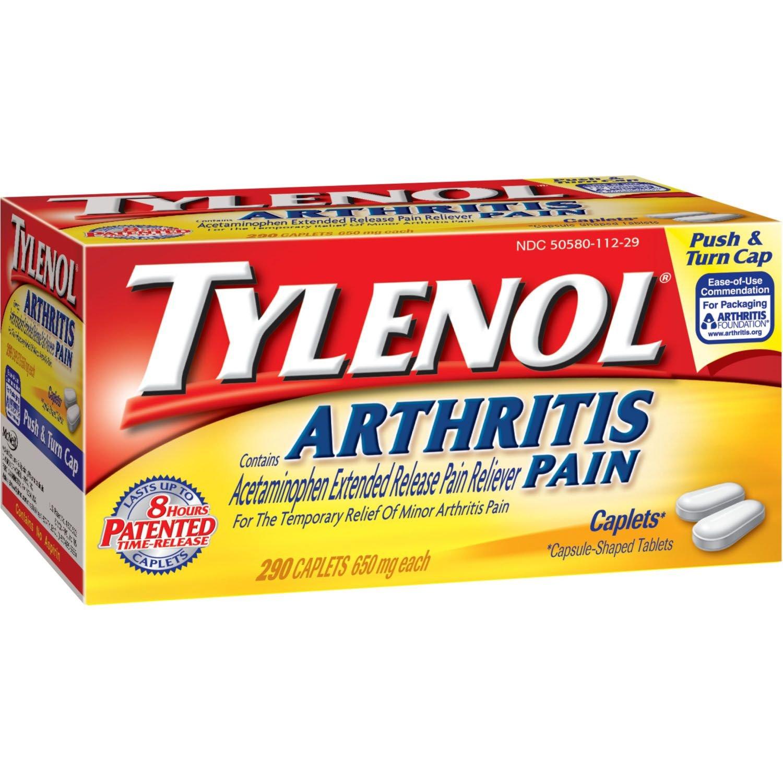 Tylenol® Arthritis Pain Caplets - 290 ct. (pack of 6) by Tylenol