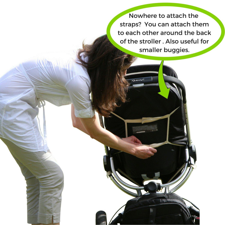 Parasol y ayuda al sue/ño del beb/é negro Steel Grey Trim Talla:talla Universal SnoozeShade Plus