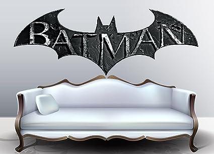 Amazon.com: Batman Logo Full Color decal, Batman Symbol Full color ...