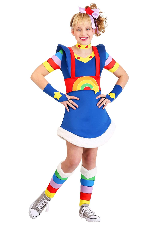 Fun Costumes Disfraz de Brite arcoíris para niñas - Multicolor - X ...
