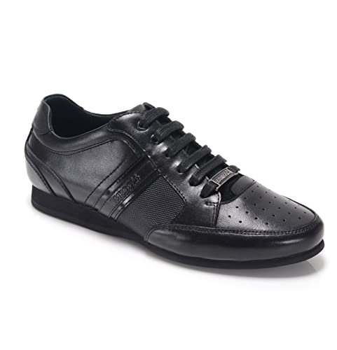 dfad99a6e8e6 BambooA FELLINI Boys Leather Lace Up Trainer Shoes Black 36  Amazon.co.uk   Shoes   Bags