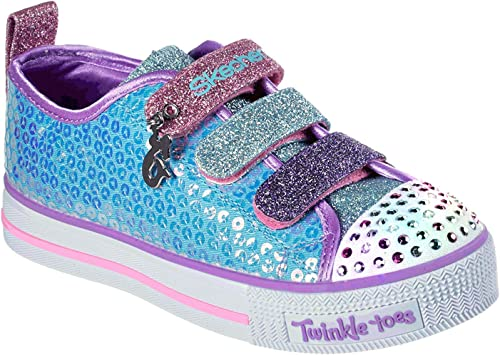 Skechers Twinkle Lite Mermaid Magic, Baskets Fille