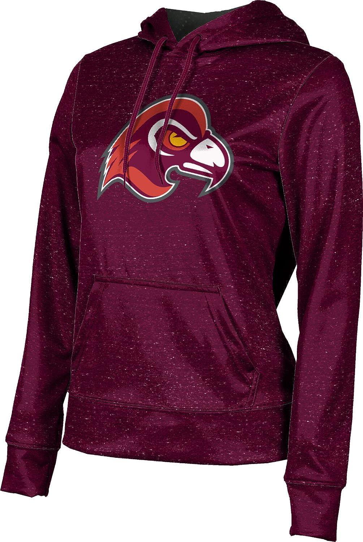 School Spirit Sweatshirt Heather ProSphere Fairmont State University Girls Pullover Hoodie