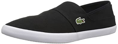 f30146a28 Lacoste Marice Canvas Loafer Black 7 D(M) US  Buy Online at Low ...