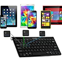 Navitech QWERTZ Wireless Bluetooth Keyboard / Tastatur für das Alcatel PIXI 3 (7)
